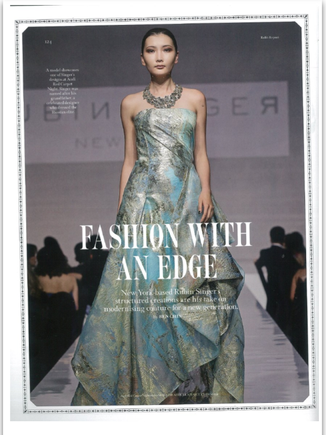 "RUBINSINGER ""Fashion with an Edge ""by Robb Report Thailand"
