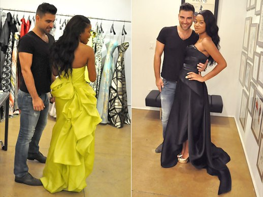 Emmys 2014: Keke Palmer Takes Us Behind-the-Scenes of Her Emmys Gown Fitting With Rubin Singer