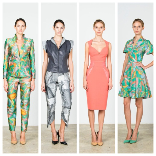 """RUBINSINGER Ready-to-Wear Spring / Summer 2015 Collection """" Metaphysical Symbolism """" LookBook"""