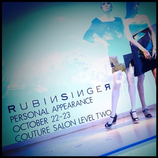 RUBINSINGER Personal Appearance at Neiman Marcus Palo Alto
