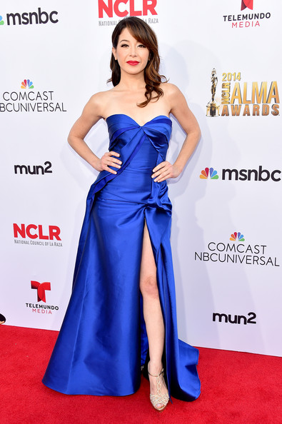Katherine Castro by RUBINSINGER at ALMA Awards 2014