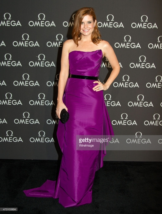 JOANNA GARCIA SWISHER WEARS RUBIN SINGER TO THE OMEGA PRESENTS SPEEDMASTER HOUSTON EVENT