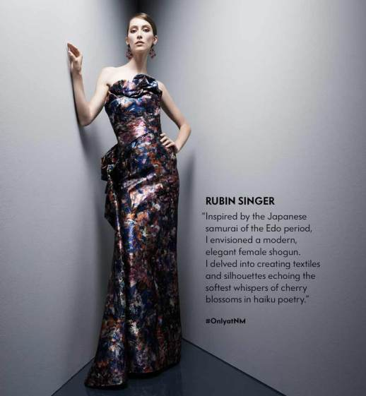 ANGLES OF INFLUENCE by NEIMAN MARCUS FEATURING RUBINSINGER FALL 2015