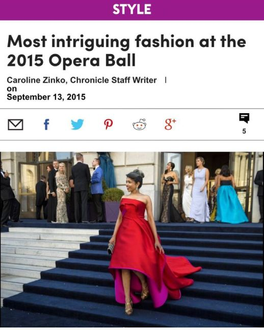 Most intriguing fashion at the 2015 Opera Ball