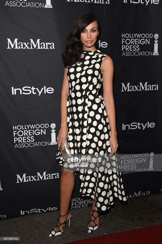 attends the InStyle & HFPA party during the 2015 Toronto International Film Festival at the Windsor Arms Hotel on September 12, 2015 in Toronto, Canada.
