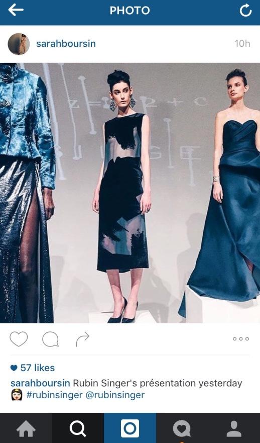 RUBINSINGER's Fall/Winter 2016 Fashion Show New York Fashion Week