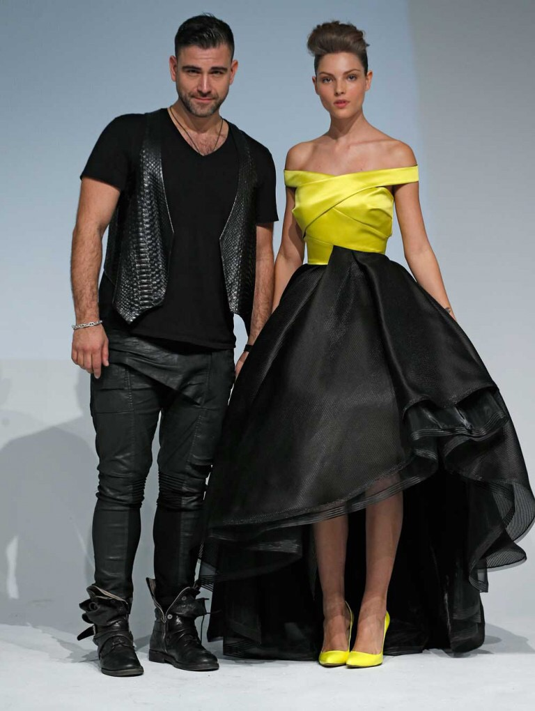 New York Fashion Week 2016 Perfect In Black And White Rubin Singer Blog Couture Designer